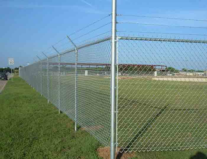 Diamond Wire Mesh, Galvanized Chain Link Mesh, PVC Coated Chain Link