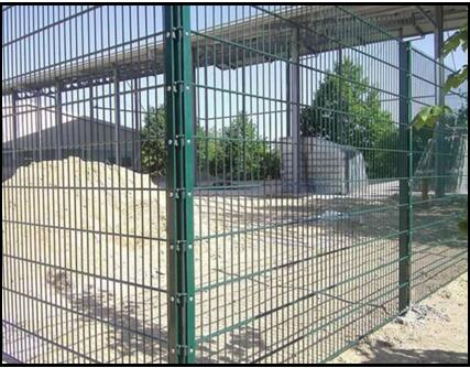Double Wire Fence Characteristics