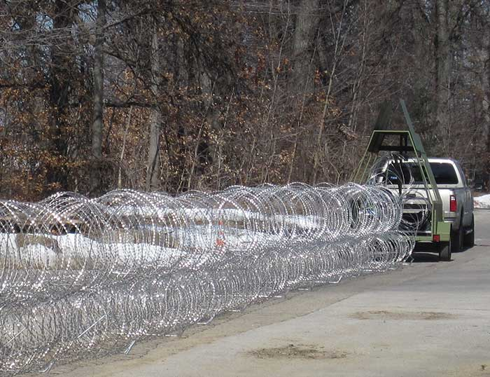 Concertina Wire Galvanized Razor Wire Hot Dipped