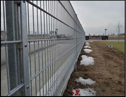 Double Wire Fence Installation Method