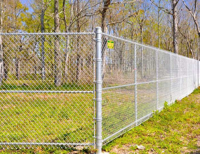 Zinc steel chain link fence is becoming more and more popular