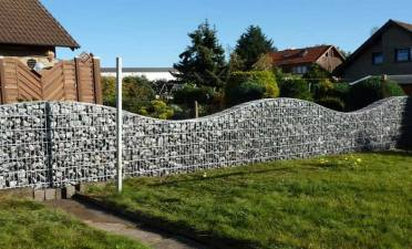 How to stop galvanized gabion box from rusting?
