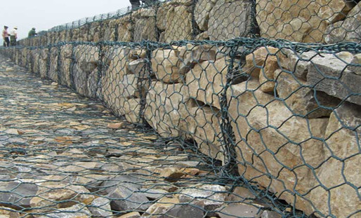 Why Does The River Slope Use Hexagonal Gabion Box?