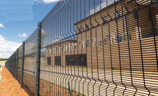 Exterior Treatment Of The Prison Fence